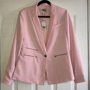 Forced 21 pink blazer